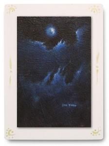 群青からの風 part.10 / 2011 / Oil Color  / 150mm × 100mm / Wood Panel / ¥6,500