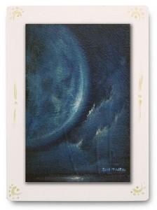 群青からの風 part.9 / 2011 / Oil Color  / 150mm × 100mm / Wood Panel / ¥6,500