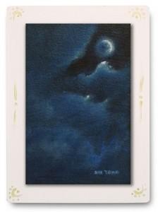 群青からの風 part.8 / 2011 / Oil Color  / 150mm × 100mm / Wood Panel / ¥6,500