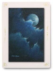 群青からの風 part.7 / 2011 / Oil Color  / 150mm × 100mm / Wood Panel / ¥6,500