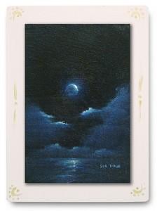 群青からの風 part.6 / 2011 / Oil Color  / 150mm × 100mm / Wood Panel / ¥6,500