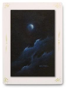 群青からの風 part.5 / 2011 / Oil Color  / 150mm × 100mm / Wood Panel / ¥6,500