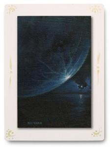 群青からの風 part.3 / 2011 / Oil Color  / 150mm × 100mm / Wood Panel / ¥6,500