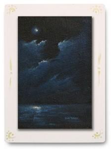 群青からの風 part.2 / 2011 / Oil Color  / 150mm × 100mm / Wood Panel / ¥6,500