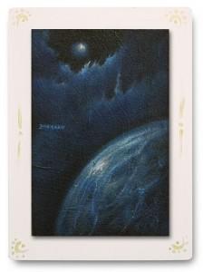 群青からの風 part.1 / 2011 / Oil Color  / 150mm × 100mm / Wood Panel / ¥6,500