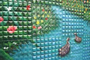 mukoudai wall art