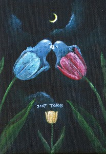Tulip / 2007 / Acrylic Color / 148mm × 100mm  / Canvas / ¥5,000